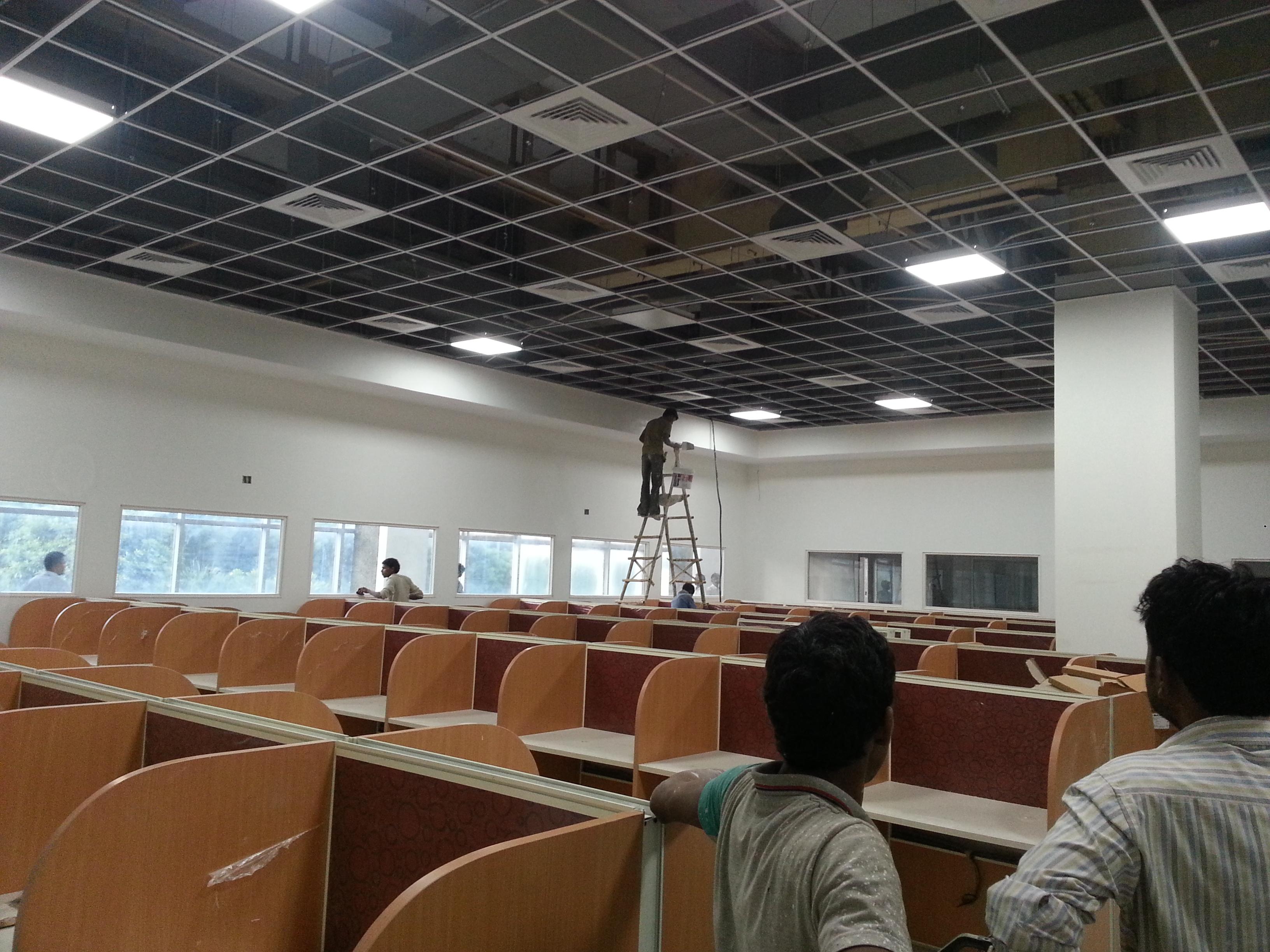 Interior Design For A BPO In Noida Studio One Designs Pvt Ltd