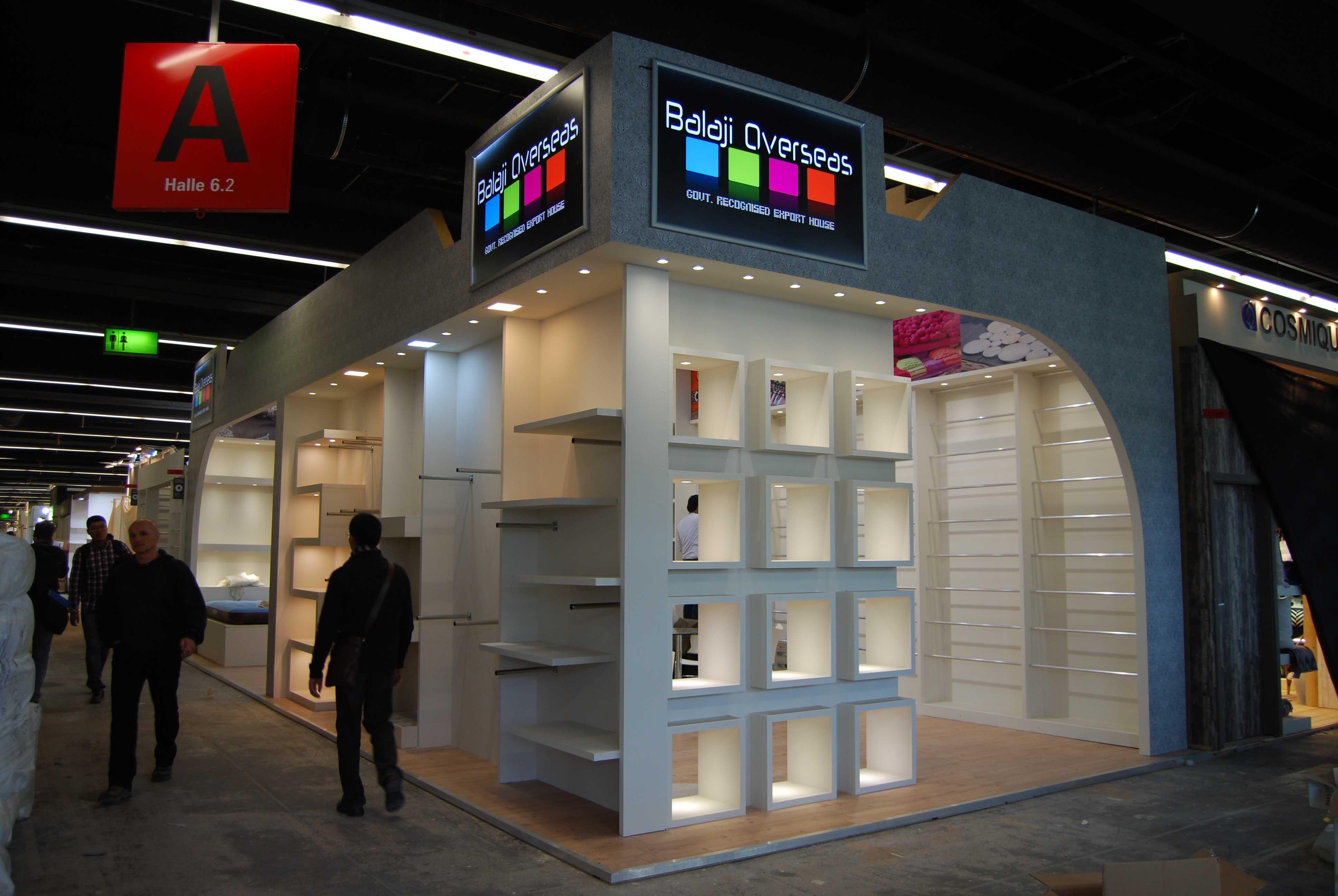 Exhibition Stall Designer In Germany : Balaji