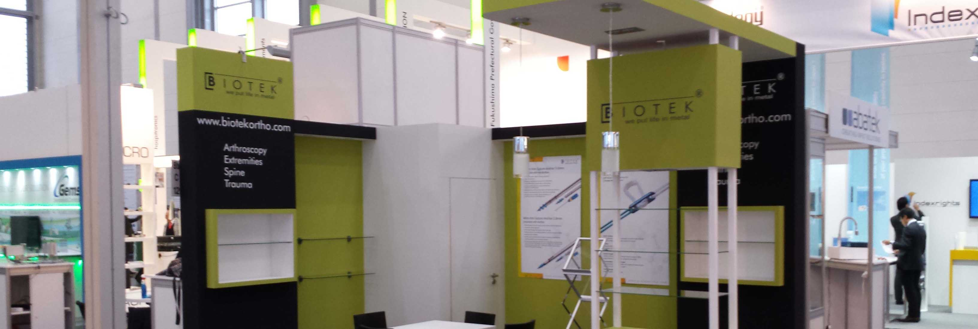 The Medica/Compamed 2014 in Dusseldorf, Germany.